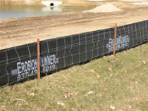 Silt Fence with Wire